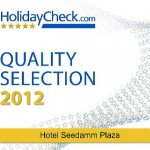 Quality Selection von HolidayCheck | 2012